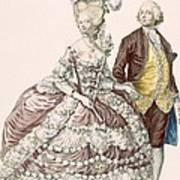 Informal Wedding Dress, Engraved Poster