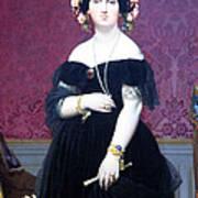 Ingres' Madame Moitessier Poster