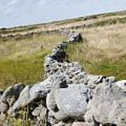 Inis Mor Fields Of Stone Poster