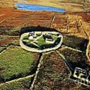 Inishmurray Island County Sligo Ireland Early Celtic Christian Ring Fort Cashel Monastic Settlement  Poster