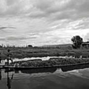Inle Lake In Burma Poster