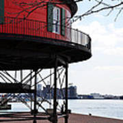 Inner Harbor Lighthouse - Baltimore Poster