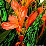 Inpressionistic Garden Poster