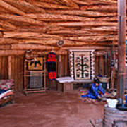 Inside A Navajo Home Poster