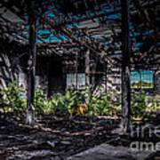 Inside An Abandon Building Poster