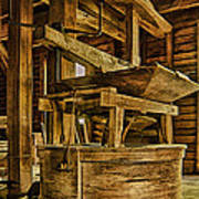 Inside Mingus Grist Mill Poster