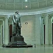 Inside The Jefferson Memorial Poster