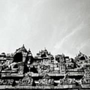 Inspiration At Borobudur Poster