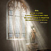Inspirational - Heavenly Father - Senrenity Prayer  Poster