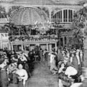 Interior View Of The Moulin De  La Poster