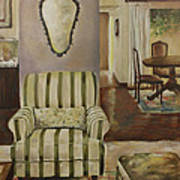 Interior With Chair Poster