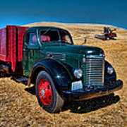 International Farm Truck Poster
