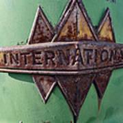 International Harvester Insignia Poster