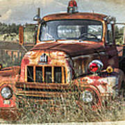 International Harvester Poster by Tracy Munson