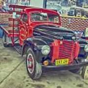 International Vintage Truck Poster