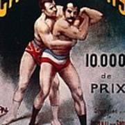 International Wrestling Championship Poster