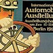 Internationale Automobile Ausftellung Poster