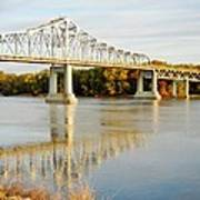 Interstate Bridge In Winona Poster