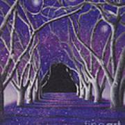 Into The Dark Poster by Elizabeth Dobbs