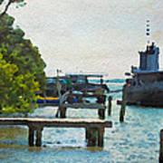 Intracoastal Ship Poster
