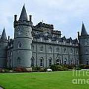 Inveraray Castle In Argyll Poster