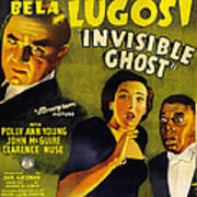 Invisible Ghost Poster by Monogram Pictures