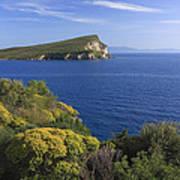 Ionian Sea Coast Albania Poster