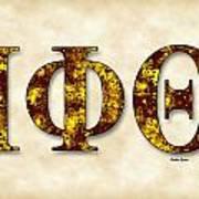 Iota Phi Theta - Parchment Poster