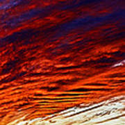iPhone Southwestern Skies Poster