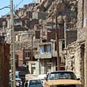 Iran Kandovan Cars And Wires Poster