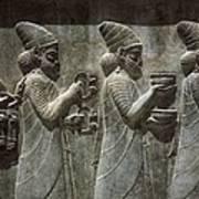 Iran. Persepolis. Apadana Or Audience Poster