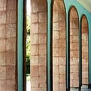 Iran Saadi Monument Shiraz Poster