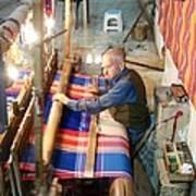 Iran Textile Weaver Poster