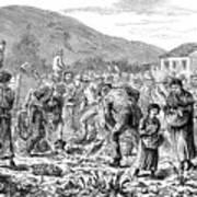 Ireland Peasants, 1886 Poster