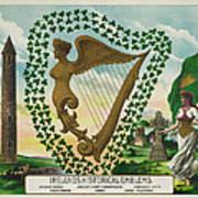 Irelands Historical Emblems Poster