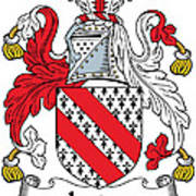 Ireton Coat Of Arms Irish Poster