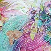 Iridescent Fairytale Poster