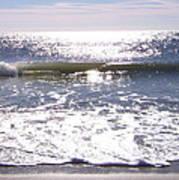 Iridescent Waves Poster