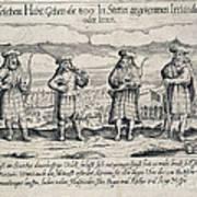 Irish Mercenaries In Stettin Poster