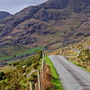 Irish Road Poster
