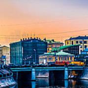 Iron Bridge Panorama Poster