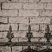 Iron Fence - New Orleans Poster