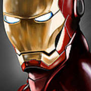 Iron Man Painting Poster