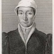 Isabella Of France  Consort Of Edward Poster