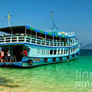 Island Ferry  Poster