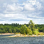 Island In Georgian Bay Poster