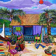 Island Time Poster by Patti Schermerhorn