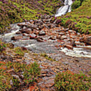 Isle Of Skye Waterfall Poster