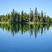 Isle Royale Reflections Poster