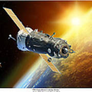 ISS Expedition Coming Home Poster